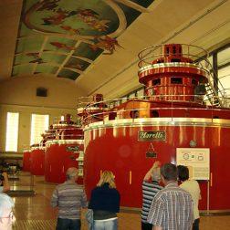 Freno per turbine